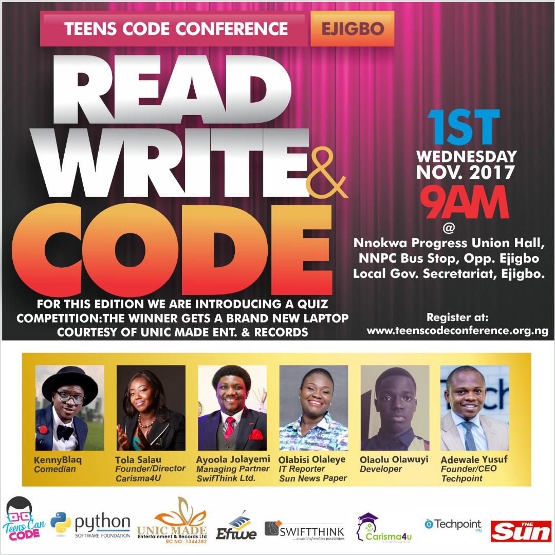Lagos Targets 1000 Kids In Teen Can Code Workshop