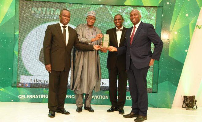 NCC Boss Receives Telecoms Man Of The Year Award