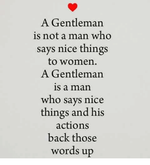 Who Is A Gentleman?