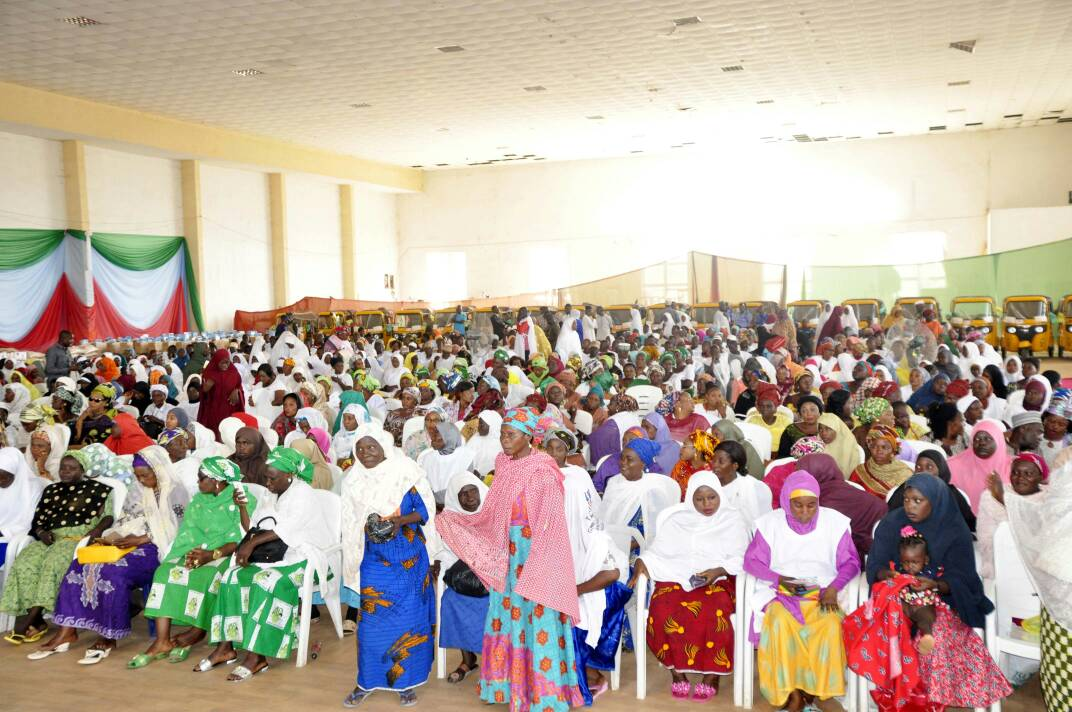 Pictures Of Taraba State Beneficiaries of Future Assured