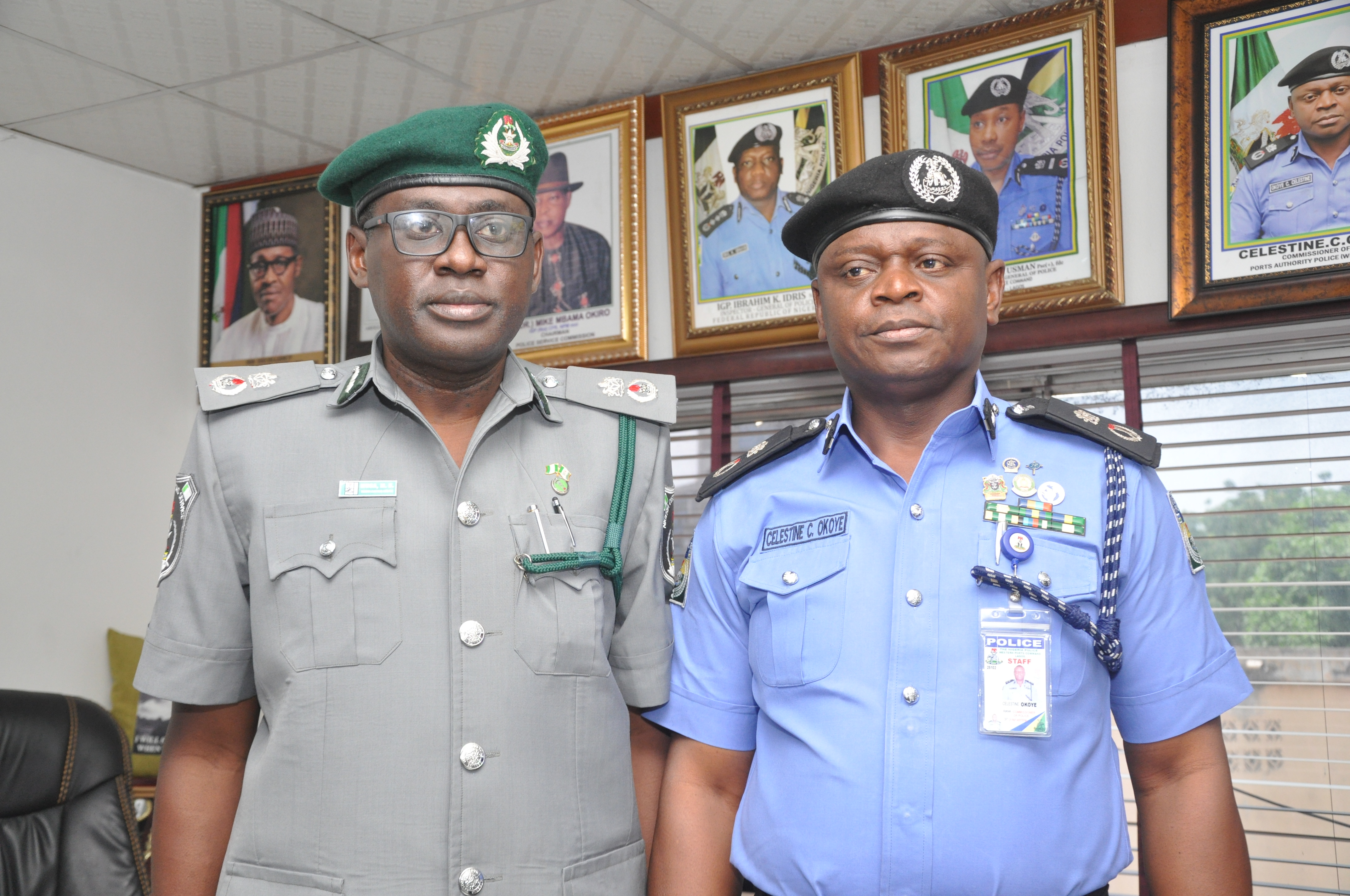 New Tincan Controller Visits Commissioner Of Police