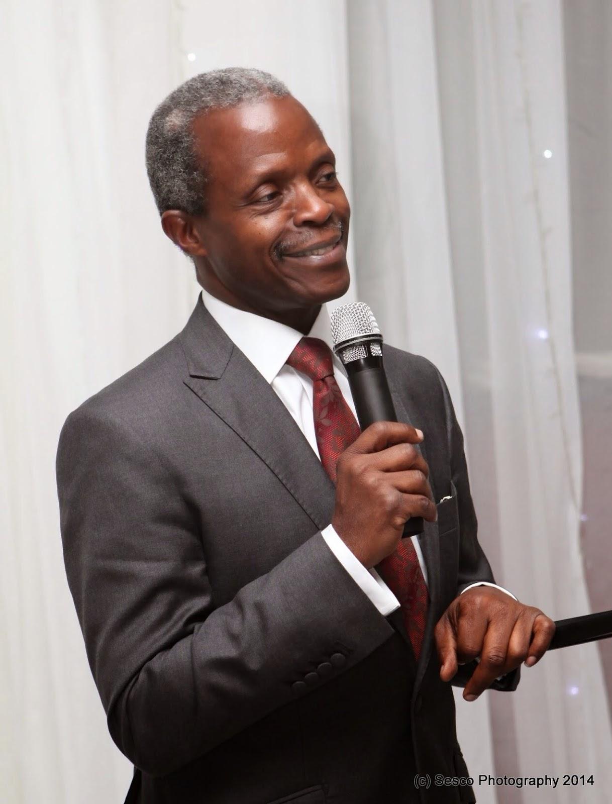 New Technology Council Underway- VP Osinbajo
