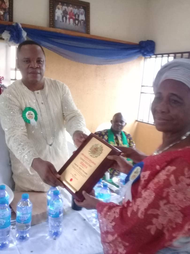 GIPEC Chaplaincy Honours Randuk Chairman, Iba LG Chairman, Others