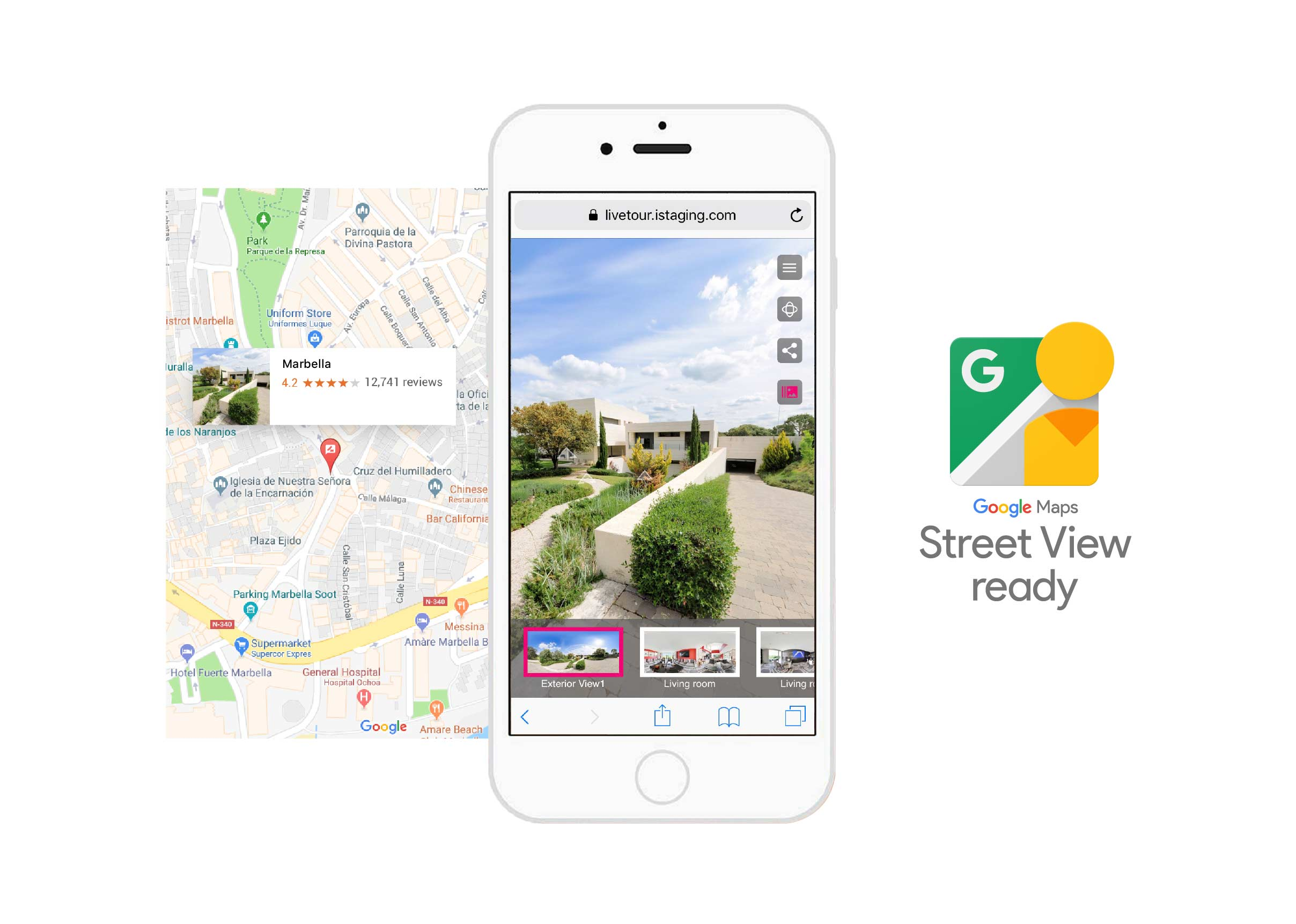 'iStaging, Now Street View Ready'