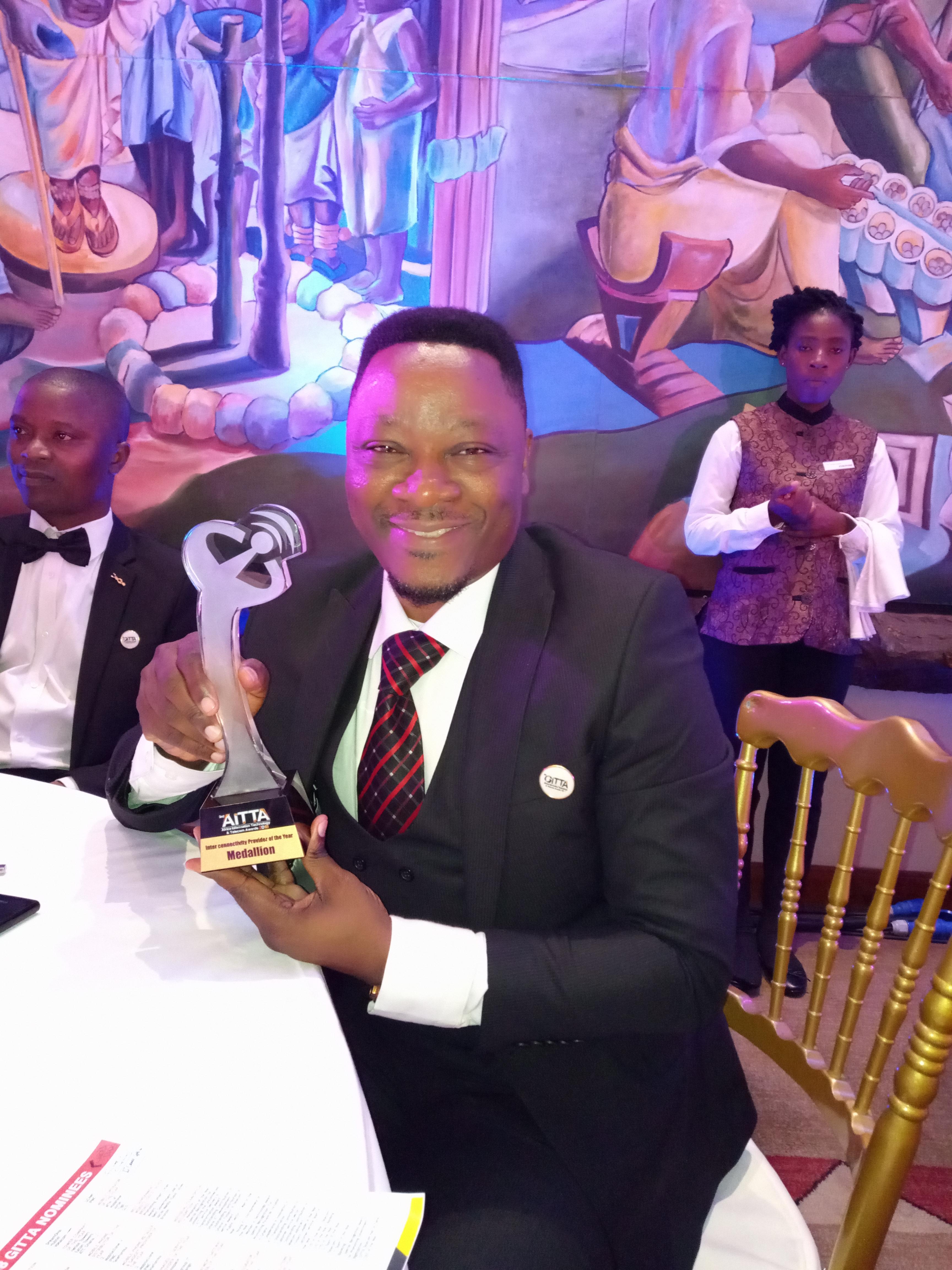 Medallion Bags Interconnectivity Award In Ghana