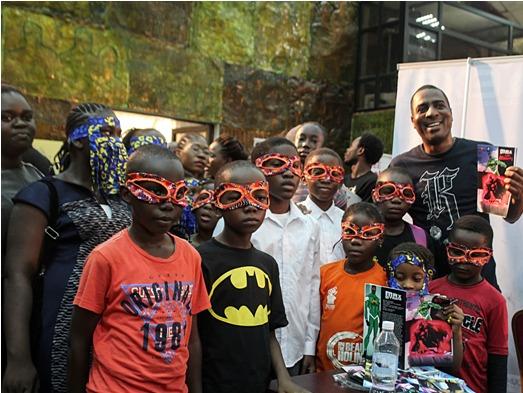 Lagos Comic Con For Saturday