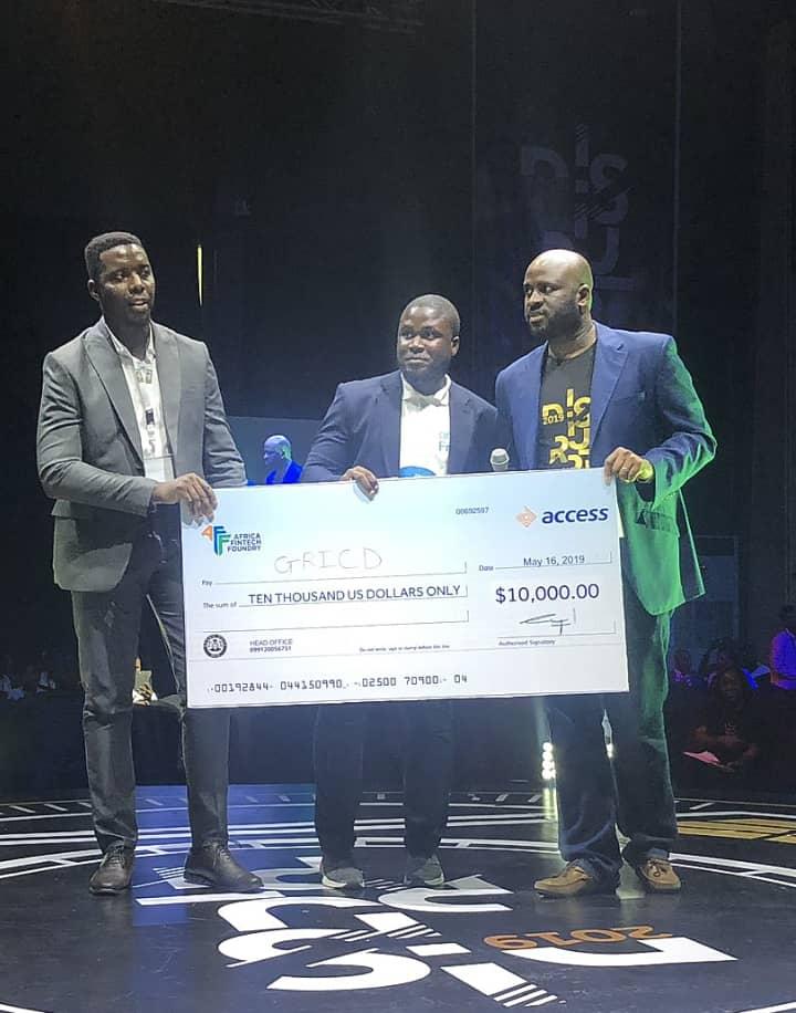 And The Winner Is Oghenetega Lortim