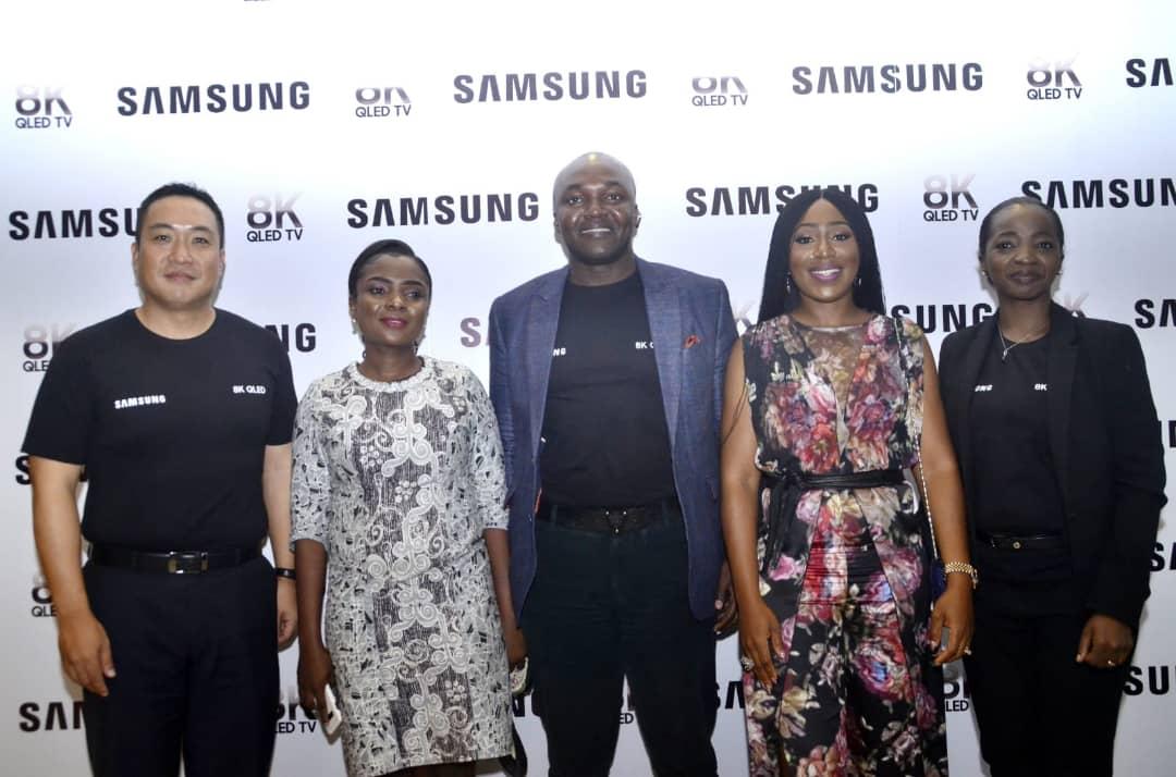 Samsung Debuts Largest 8K QLED TV Line In Nigeria
